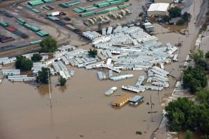 Desastres provocaram três vezes mais deslocados que conflitos armados