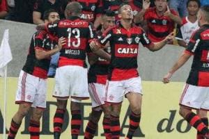 Flamengo vence o Atlético-MG de virada no Maracanã