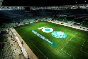 Novo estádio do Palmeiras fará evento-teste no sábado