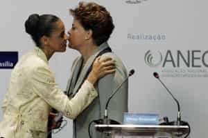 Marina empata com Dilma no primeiro e vence no 2º turno