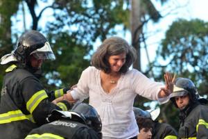 Víuva de Campos faz propaganda por Paulo Câmara