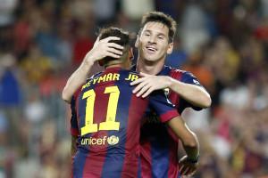 Messi bate recorde em vitória do Barcelona