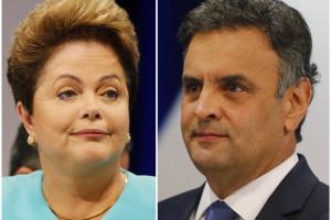 Datafolha: Dilma está pela primeira vez na frente de Aécio