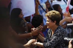 Dilma participa em campanha de Pezão e Crivella