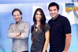 Chris Flores não está segura sobre proposta da Rede TV!