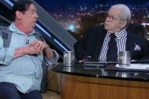 Jô Soares elogia Suzana Viera dizendo que ela tem pacto com o Diabo