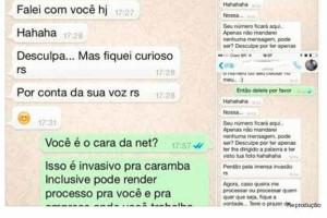 NET demite funcionário que assediou cliente pelo WhatsApp