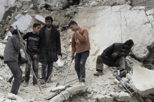 Síria: 2.916 civis mortos desde o início do ano em ataques aéreos