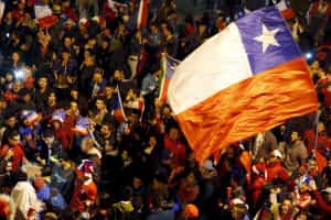 Federação chilena vai distribuir 40 mil bandeiras na final