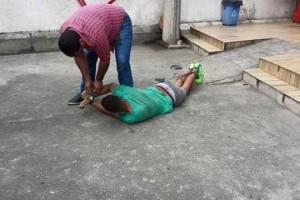 Homem amarrado e agredido no Rio não era bandido, diz polícia