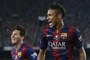 Neymar e Messi ficam fora da última viagem de pré-temporada