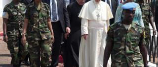 República Centro Africana pede perdão ao papa