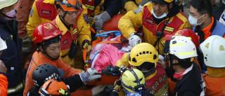 Pelo menos 42 mortos em Taiwan, 107 pessoas ainda desaparecidas