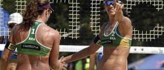 Larissa e Talita vão à semifinal na Polônia e se garantem na Olimpíada