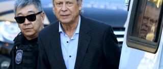 Entre livros, Dirceu é orientado por Marcelo Odebrecht nos treinos