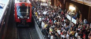 Atropelamento por trem deixa um morto e um ferido em São Paulo