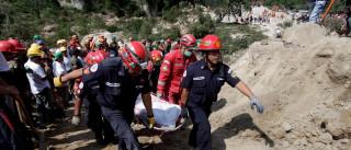 Guatemala diz que deslizamento matou 73 pessoas