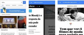 Projeto do Google acelera sites para smartphone e tablet