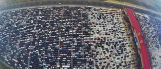 Video do maior congestionamento do mundo