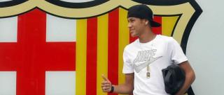 Neymar quer continuar no Barcelona