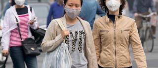 Pequim arrecadou 13,8 milhões de euros em multas por poluição