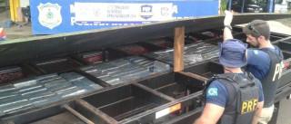 Maior apreensão de maconha no país, ontem, somou 24,5 toneladas