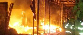 Terreiro de candomblé é incendiado no Paranoá