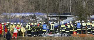 Colisão entre dois trens na Alemanha  provoca vários mortos