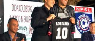 Adriano estreia no Miami United, mas time é goleado por 5 a 0
