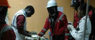 Polícia encontra criança após quatro dias soterrada em escombros