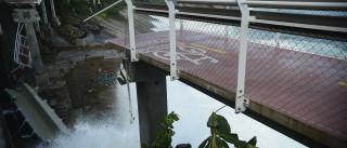 Ciclovia caiu porque plataforma  não estava amarrada aos pilares