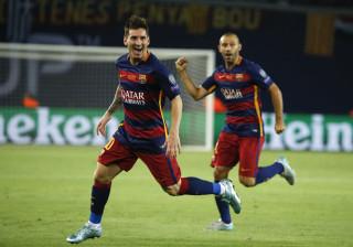"""Mascherano diz que """"não suportaria"""" ser Messi"""