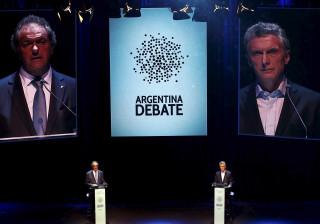 Candidatos na Argentina tentam conquistar votos dos indecisos em debate