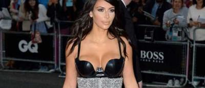 Kim Kardashian tem um motivo para não sorrir aos fotógrafos