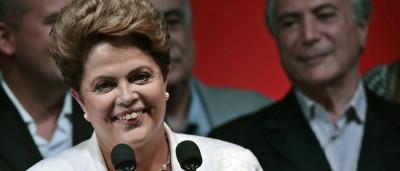 Presidente Dilma recebe cantada em evento em Fortaleza