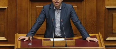 """Tsipras diz que meta do Syriza é obter """"maioria absoluta"""" nas eleições"""