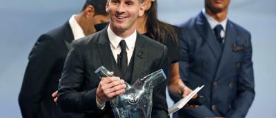 Messi é eleito o melhor jogador da Europa pela segunda vez