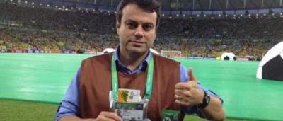 Repórter da Globo bate boca com torcedor em rede social