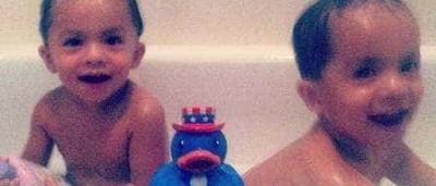 Mulher mata filhos gêmeos afogados