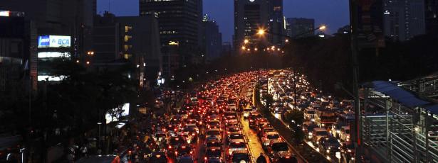 Rio é a 3ª cidade do mundo onde se perde mais tempo no trânsito