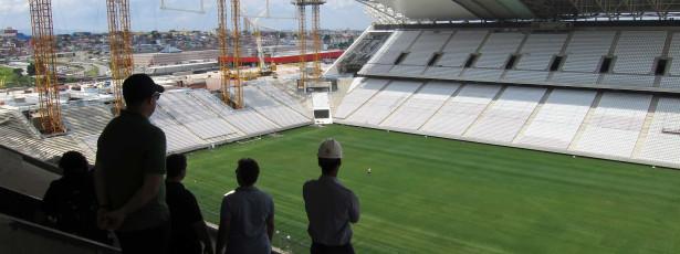 Estádios que sediarão jogos da Copa arrecadaram R$ 176,5 mi