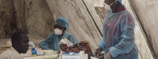 Ebola: Guiné-Bissau abre campanha de limpeza em mercado da capital