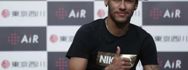 Neymar está recuperado e foi liberado para jogar