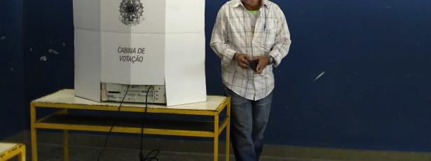Pesquisa mostra que 9% escolheram voto no próprio dia