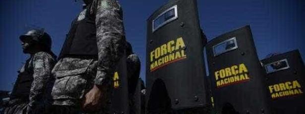 Força Nacional ganha reforço de mais 250 militares