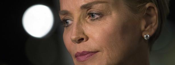 Sharon Stone chora pela morte de sobrinho