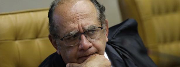 Cunha discute impeachment de Dilma com Gilmar Mendes