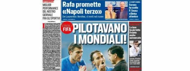 Jornal italiano diz que houve manipulação na Copa 2002