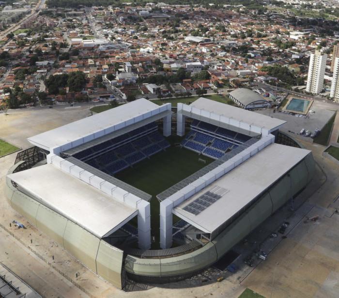 Arena Pantanal fica sem avaliação máxima de sistema do Ministério do Esporte