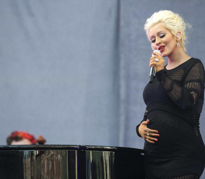O estilo de grávida das famosas